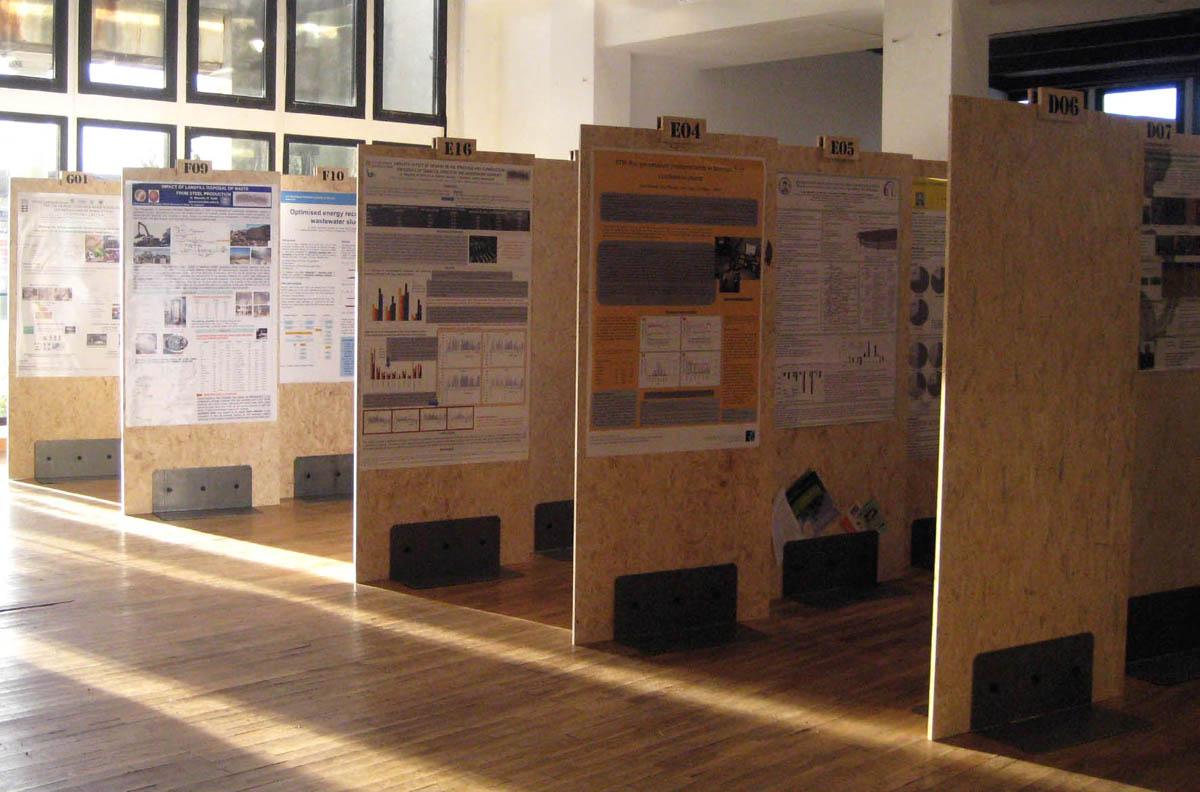 Set up for Venice 2010 </br>Intenational Symposium